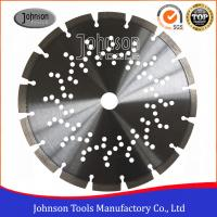 "Quality 9"" Laser welded Diamond Concrete Saw Blades 230mm with Cooling Holes wholesale"