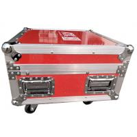 Quality Luminous And Reflective Spot Red Rack Flight Case , Twelve Channel Motor Chain Hoist Power Case wholesale