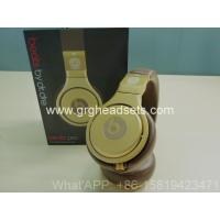 China Beats by Dre limited edition 24k gold plated headphones Versace Headphones Made In grghe on sale