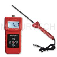 Buy cheap MS350A High Frequency moisture meter for soil ,silver sand, chemical combination powder from wholesalers