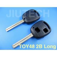 Buy cheap Lexus remote key shell 2 button without logo TOY48(long) from wholesalers