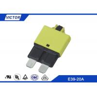 China E39 - 20A Automobile Car Circuit Breaker Protection Electrical Vehicle Resetting Circuit Breaker on sale