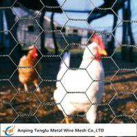 Buy cheap Chicken Wire Netting  25mm Opening Hole Wire Mesh Customized Size for Poultry House from wholesalers