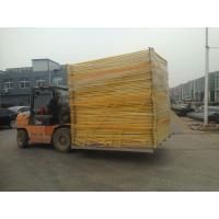 Buy cheap Standard Temporary Fencing panels 14 microns hdg before welding 2100mm x 2400mm OD 32 pipes AS4687 from Wholesalers