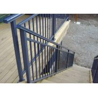 Buy cheap Manufacture Stair Handrail Product Aluminium Outdoor Balustrades / Handrails from Wholesalers