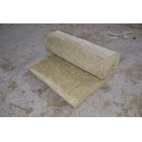 Quality Fire Resistant Rockwool Insulation Blanket , Furnaces Rock Wool Roll wholesale