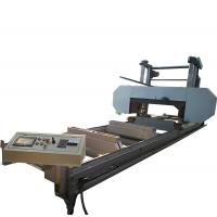 Buy cheap large size automatic hard wood horizontal band saw mill machine upto sawing log from wholesalers