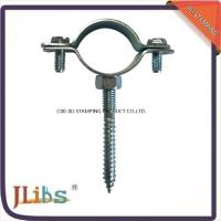 Quality Carbon Steel Clamp For Pipe , 1.3mm-1.5mm Thickness Pipe Support Clamps for sale
