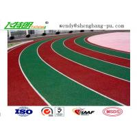 Quality Weather Resistant Sandwich System Running Track Flooring for College School Rubber Surface wholesale