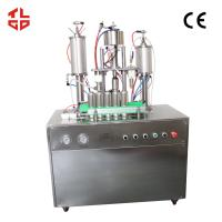 Quality Shaving Foam Aerosol Can Filling Machine, Deodorant Aerosol Filling Machine Pneumatic Drive wholesale