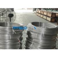 Buy cheap ASTM A269 TP304 Stainless Steel Coiled Tubing Size 6.35mm x 1.65mm x 150m / coil from Wholesalers