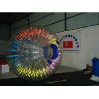 Buy cheap Commercial Glowing Inflatable Zorb Ball for advertising with custom LOGO for Snow Field from Wholesalers