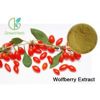 Buy cheap Heathy Chinese Wolfberry Extract , Lowering Blood Fat Goji Berry Extract Powder from Wholesalers
