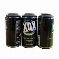 Buy cheap Aluminum Aerosol Can with 50 to 350mL Capacity Range from Wholesalers