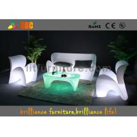 Buy cheap Remote Control Glowing led double coffee table / LED Bar Tables for lounge from Wholesalers