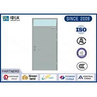 Buy cheap High Protection Commercial Fire Rated Doors / Steel Fire Door ISO9001 2008 Certificate from Wholesalers