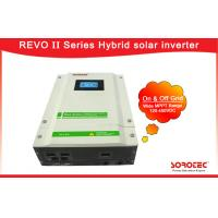 Buy cheap 220/230VAC Wide PV Input Range 50Hz / 60Hz Hybrid Solar Inverters with Independent CPU from wholesalers