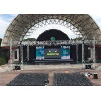 Buy cheap High Brightness Pixel Pitch 5.95mm P6 Outdoor Rental Led Screen 1/16 Scan Driving from Wholesalers