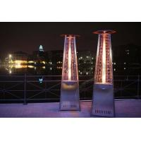 Eco Friendly Outdoor Propane Gas Heaters , Floor Standing Propane Heater 2.3m