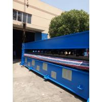 6.5m Automatic Single Board Needle Punching Machine For Colorful Embroider Nonwoven