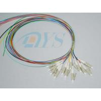 Buy cheap 12 Core LC Optical Fiber Connectors Stable 0.9mm For Local Area Networks from Wholesalers