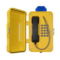 Buy cheap IP67 Industrial Weatherproof Telephone With Beacon , PoE Powered Tunnel Phone from Wholesalers