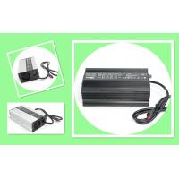 Buy cheap Black Electric Motorcycle Battery Charger / Intelligent Li ion Battery Charger 60V 8A  600W from wholesalers