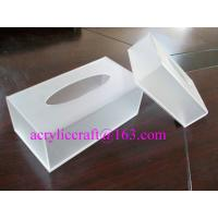 Buy cheap Plexiglass / PMMA / Acrylic Tissue Box For Hotel And Home Made In China from Wholesalers