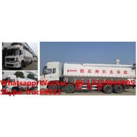 China Dongfeng Tianlong Euro Ⅴ 292hp 40m3 livestock poultry feed tank truck for sale,HOT SALE! good price bulk feed truck on sale