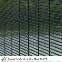 Buy cheap 358 Security Mesh Fence |76.2 mmX12.7 mmX4mm Wire from wholesalers