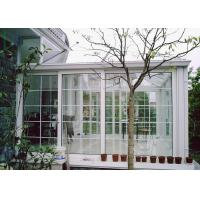 Quality White Color Aluminium Glass Greenhouse Luxury Imperial Design System wholesale