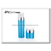Buy cheap Cap Transparent The Bottle In The Blue Section Plating Silver Airless Pump Bottles from Wholesalers