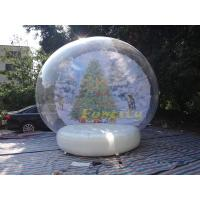 Buy cheap Giant Durablle Material Inflatable Snow Globe for Christmas and Event from Wholesalers