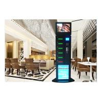 Quality Hotel Free Charge Advertising Cell Phone Charging Vending Station With LEDs wholesale