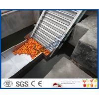 Buy cheap Fruit Juice Processing Equipment Orange Processing Line 5000kg / Hour ISO9001 CE/SGS from Wholesalers