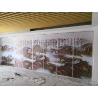 Buy cheap Banquet Hall Wooden Moveable Acoustic Sliding Partition Walls Panels from wholesalers