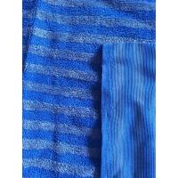 Buy cheap Microfiber 160cm Width Warp Knitting Blue Eight Grid Eight Twisted Cleaning Cloth from Wholesalers