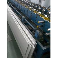 Buy cheap 5.5KW Garage door panel roll forming machine with Panasonic PLC system from Wholesalers