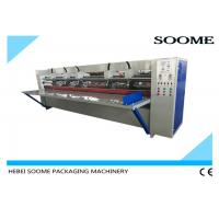 Buy cheap 17mm Thick Board Slitting Creasing Machine , Corrugated Carton Thin Blade Slitter Scorer from Wholesalers