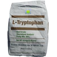 Buy cheap 98% Pure L Tryptophan Powder Nutritional Livestock Feed Additives SAA-TRYL98 from Wholesalers