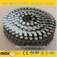 Buy cheap screw shank wire coil nails from Wholesalers