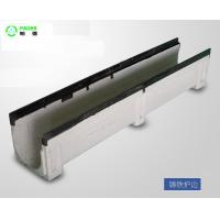 Polymer Drainage Channel with Cast Iron Gratings