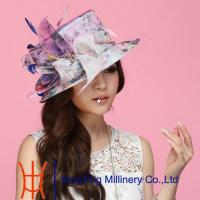 Buy cheap Pretty Broach Organza Sun Hats With 57 CM , womens vintage hats from Wholesalers