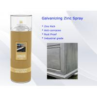Buy cheap Rust Proof Cold Galvanizing Zinc Spray Paint Anti - corrosive All direction Valve from Wholesalers