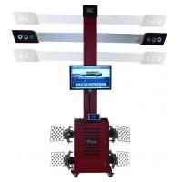 Automatic Tracking 3excel Wheel Aligner , 3D Car 4 Wheel Alignment With Global Vehicle Database