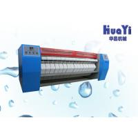 China Flat Iron Automatic Cloth Steam Ironing Machine With Double Roller on sale