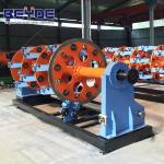 Buy cheap 400-36 bobbins planetary closing machine planetary type stranding machine from Wholesalers