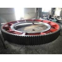 Buy cheap Giant Spur Ring Gears Precision Forging , Cast Steel Machining Straight Tooth Gears from Wholesalers