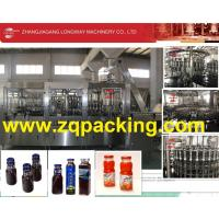 Buy cheap Auto 4 In 1Rinsing Filling Filling Capping Machine for Tea , Wine , Fruit Juice from Wholesalers