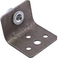 Buy cheap Chair Bracket Furniture Fixing Brackets 4 Holes Iron Material With M6 Rivet Nut from Wholesalers